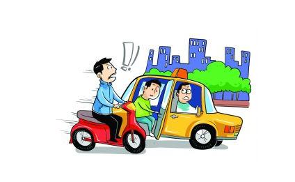 南京:10天98起开车门事故 论车门正确的打开方式